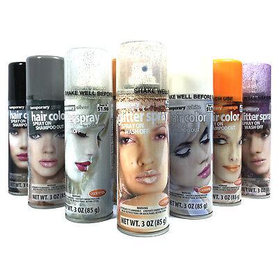 Temporary Hair & Body Color Spray On Shampoo Out SELECT COLOR | eBay