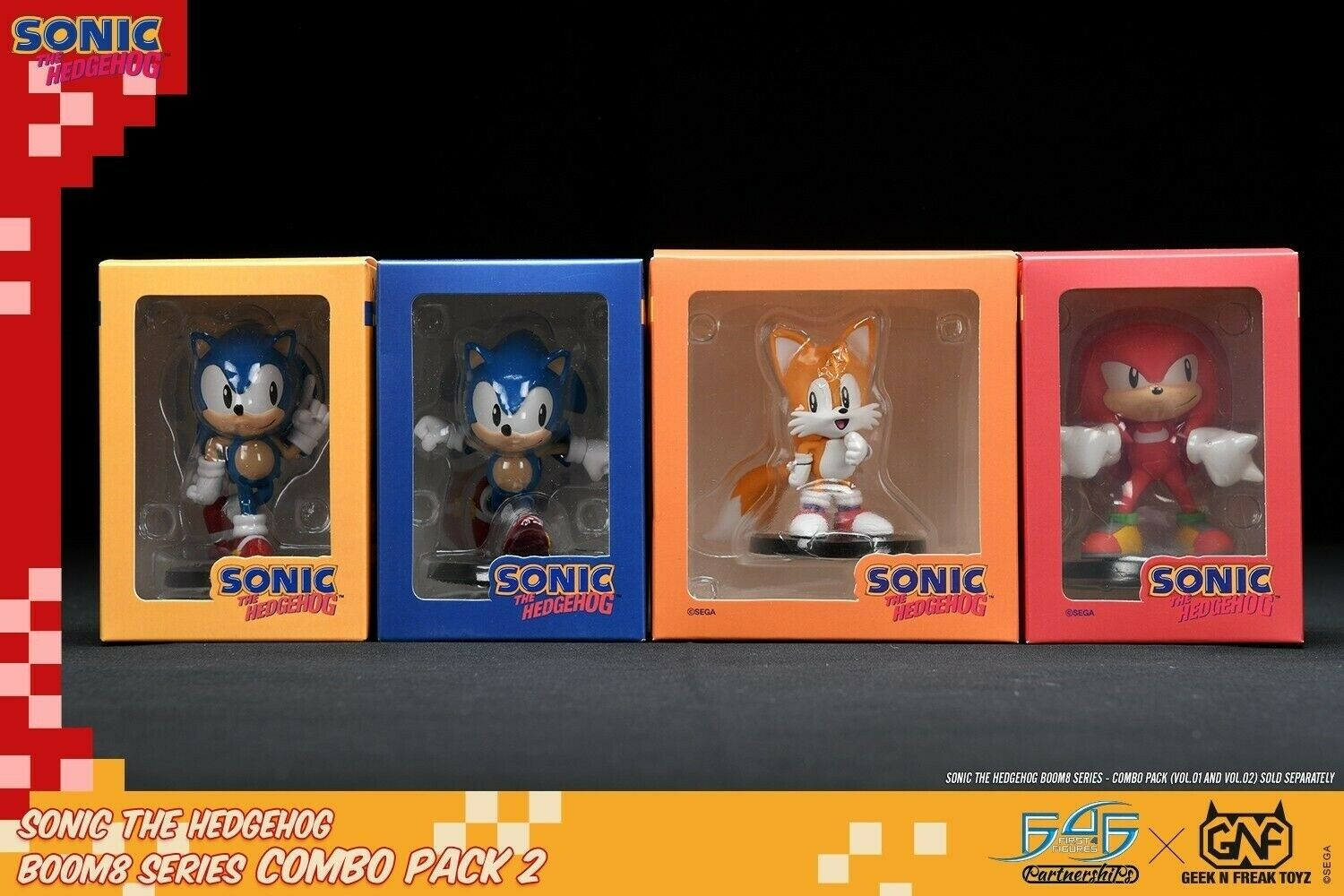 Sonic The Hedgehog Boom8 Series Vol 1 2 3 Set Of 4 4 Pvc Figures Ebatechng Com