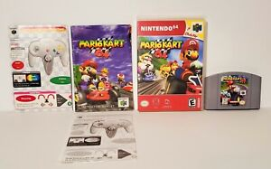 Mario Kart 64 (64, 1997) Clean & Tested, Manual Included