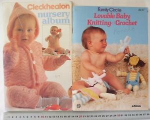 BABY-Knitting-Cardigans-Jackets-Jumpers-Hats-3-8-Ply-Choice-of-2-Books-B10