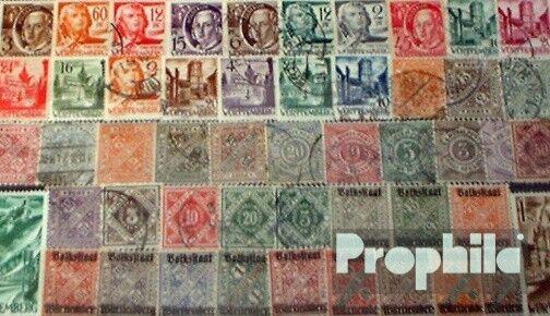 Alemania 50 diferentes sellos  Württemberg viejo+nuevo