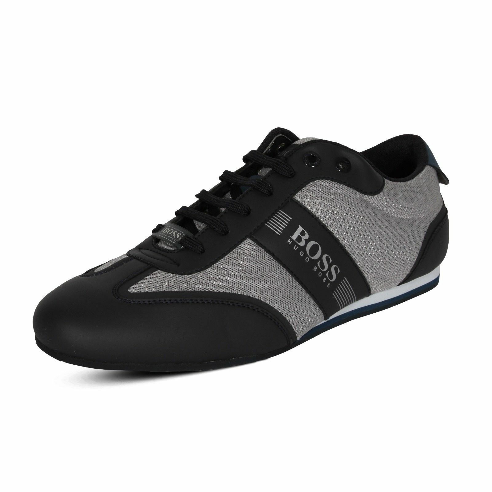 Hugo Boss Men's Lighter Lowp Mxme Fashion Sneaker shoes 50370438 067 Grey