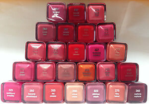 33-Piece-Lot-COVERGIRL-L-039-Oreal-NYX-Maybelline-factory-damaged-lipstick-lot