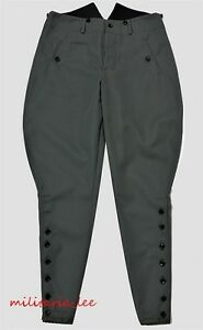 WW1-Repro-German-Officer-Field-Gray-Gabardine-Breeches-All-Sizes