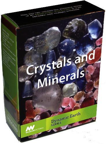 CRYSTALS /& MINERALS Dynamic Earth Series MUSEUM VICTORIA Science Kit