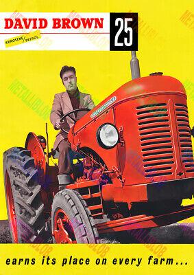 3 para 2 Oferta - A3 Fordson Dexta cartel de publicidad