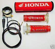Honda Grips, Ignition Kill, Bar Pad Dirt Bike Pit Bike Pocket Bike Motor Cross