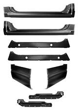 88 98 4Pc Extended Rocker /& Extended Cab Corner Kit Chevy GMC Truck 1.2MM Thick