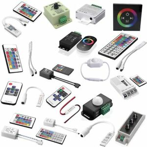 LED-IR-RF-Controller-Steuerung-Fernbedienung-Touch-Funktion-LED-RGB-Strip-DC12V