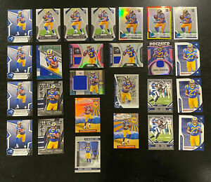 Darrell-Henderson-2019-Rookie-Lot-26-Cards-Inserts-Jersey-Patches-SP-LA-Rams-RC