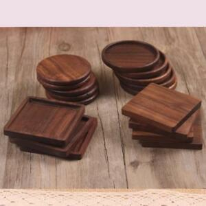 Heat Resisten Cup Costers Cup Mat Pad Wooden Cup Mat Drink Coasters Cup Mat