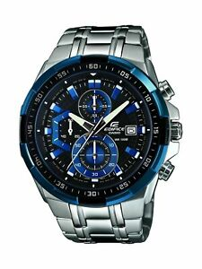 Casio-Men-039-s-Edifice-Stainless-Steel-Multi-Function-Quartz-Watch-EFR539D-1A2V