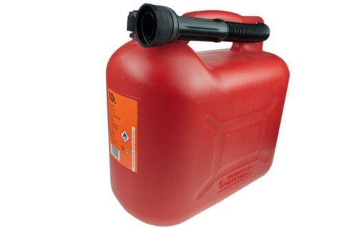 Benzinkanister Kanister Kraftstoffkanister 20//10//5L ROT//SCHWARZ Reservekanister