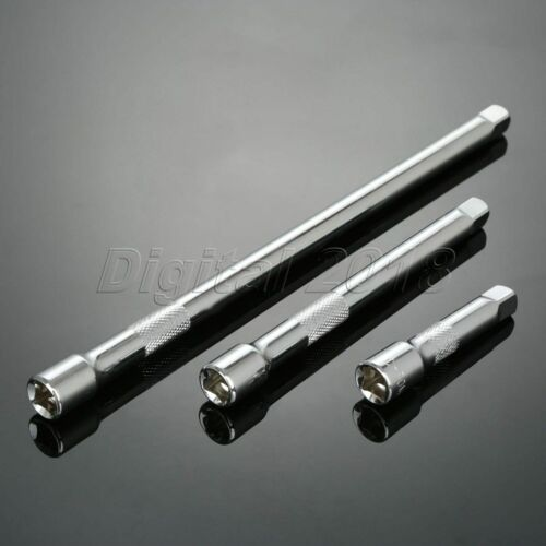 """Cr-V Steel Ratchet Wrench Extension Bar for 3//8/"""" Drive Ratchet Wrench Socket 1pc"""