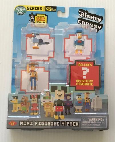 Disney Crossy Road Series 1 Minifigures Pack of 4 *Choose Your Pack*