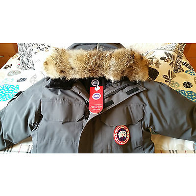 2018 LATEST CONCEPT EDITION HOLOGRAM CANADA GOOSE GRAPHITE EXPEDITION XL PARKA