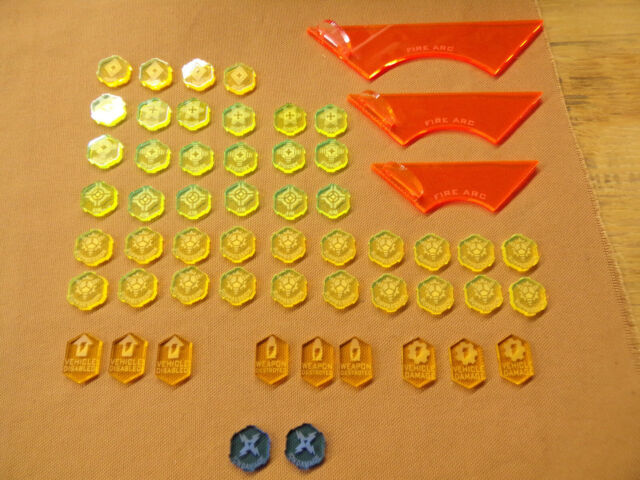 Star Wars Legion Acrylic Tokens And Templates Lot