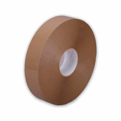 1x PP Machine Tape Brown 990m x 50mm Tape Machines Tape suprapac