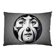 New Piero Fornasetti Clown Face pillow case one side cover free shipping