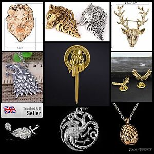 SALE-Game-of-Thrones-Pin-Authentic-amp-Detailed-Badge-Replica-Jewellery-Jewelry