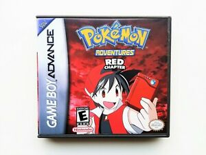Pokemon-Adventures-Red-Chapter-Game-Case-Gameboy-Advance-GBA-Anime-Manga-USA