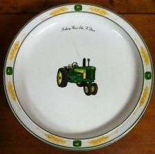 "Gibson John Deere Tractor Amber Waves Salad Plates 8.5"""