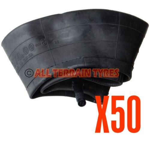 4.00-8 4.00x8 Inner Tube Wheelbarrow Trailer Straight Valve Tubes 400x8 BULK BUY