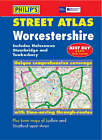 Philip's Street Atlas Worcestershire by Octopus Publishing Group (Paperback, 2003)