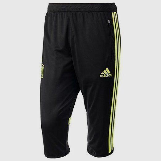 Adidas España 3 4 Entrenamiento Pantalones Fifa World World World Cup Brasil 2014 Negro   e2c68c