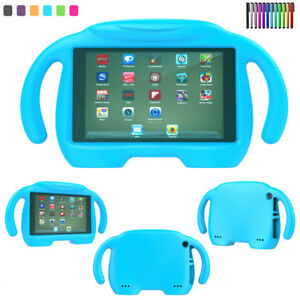 472564f6b772a7 Kids Safe EVA Foam Handle Case Cover For Amazon Kindle Fire 7 HD 8 ...