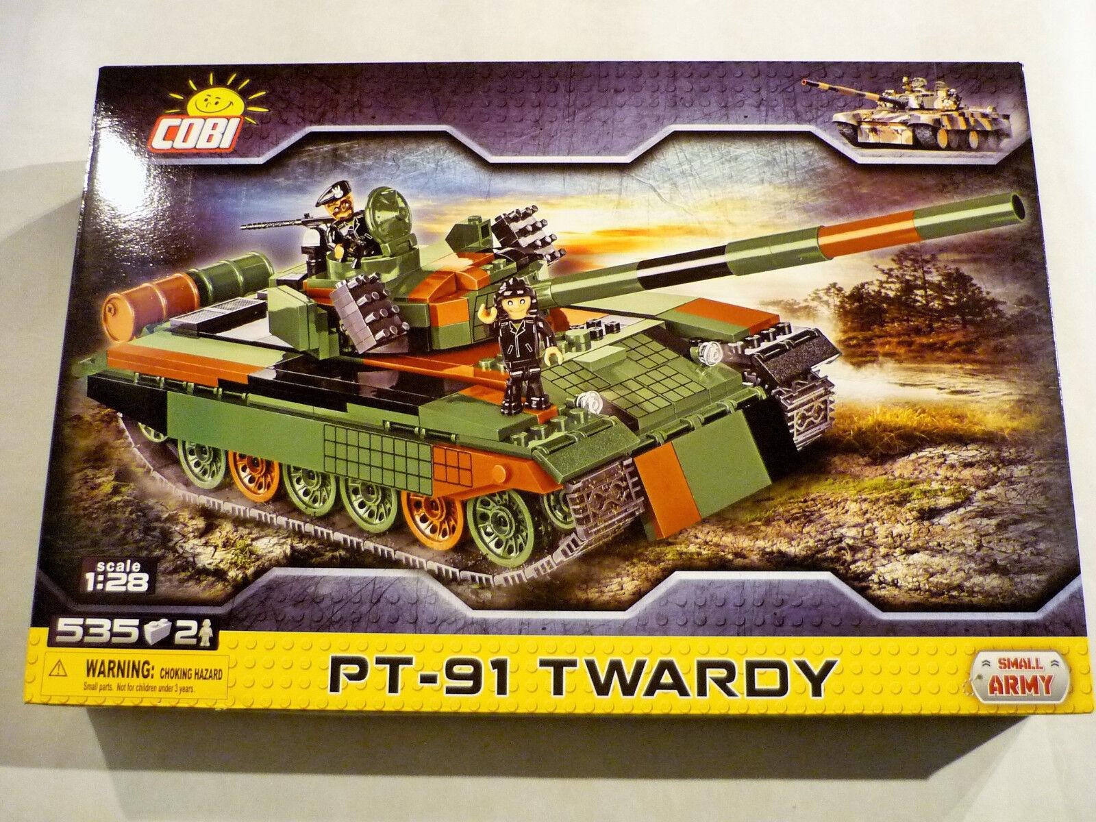 COBI 2612 - PT-91 Twardy - Small Army Polnischer Kampfpanzer NEU OVP