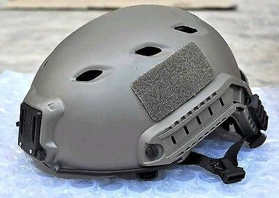 Airsoft verde FG OPS TACTICAL CASCO JUMP UK Consegna Veloce FERROVIA