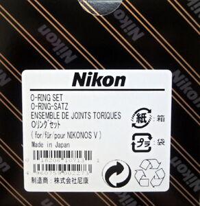 Nikon Nikonos V O ring set 4 rings and 1 grease Genuine Nikon Made in Japan