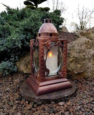 Aufstrebend Grablaterne Mit Granitsockel Grablampe Grableuchte Granit Grablicht Kerzen Engel