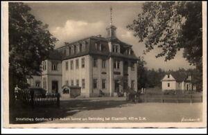 Eisenach-Thueringen-Ansichtskarte-1930-40-Partie-am-Gasthaus-zur-Sonne-Rennsteig