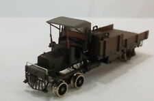 O 2R BRASS PSC GARFORD POWERED MOW RAIL TRUCK -FACTORY PAINTED