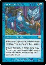 SAPRAZZAN HEIR Mercadian Masques MTG Blue Creature — Merfolk RARE
