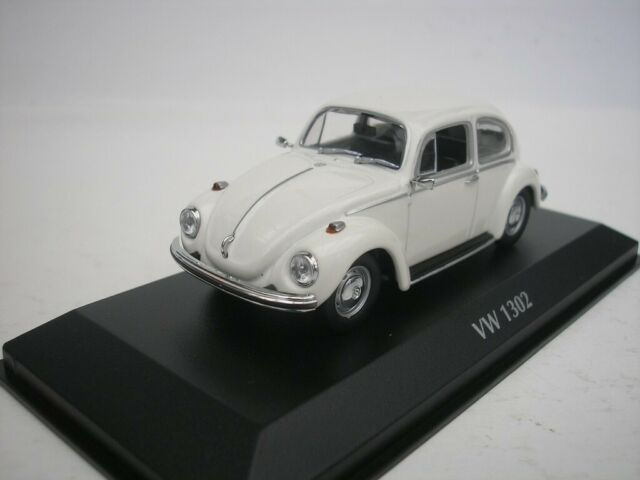 VW Volkswagen 1302 Beetle 1970 White 1/43 maxichamps 940055001 New