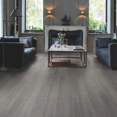 Quickstep Livyn Balance, Grey Vinyl Plank Flooring Living Room