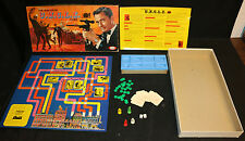 Napoleon Solo The Man From U.N.C.L.E. TV Series Board Game by Ideal (VG/F) 1965