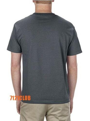Alstyle Apparel AAA T Shirt 1301 Men/'s Plain Blank Short Sleeve T Shirts S-5XL