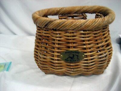 Nantucket Lightship Classic Basket Natural