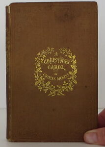 image is loading charles dickens the christmas carol first edition - A Christmas Carol First Edition