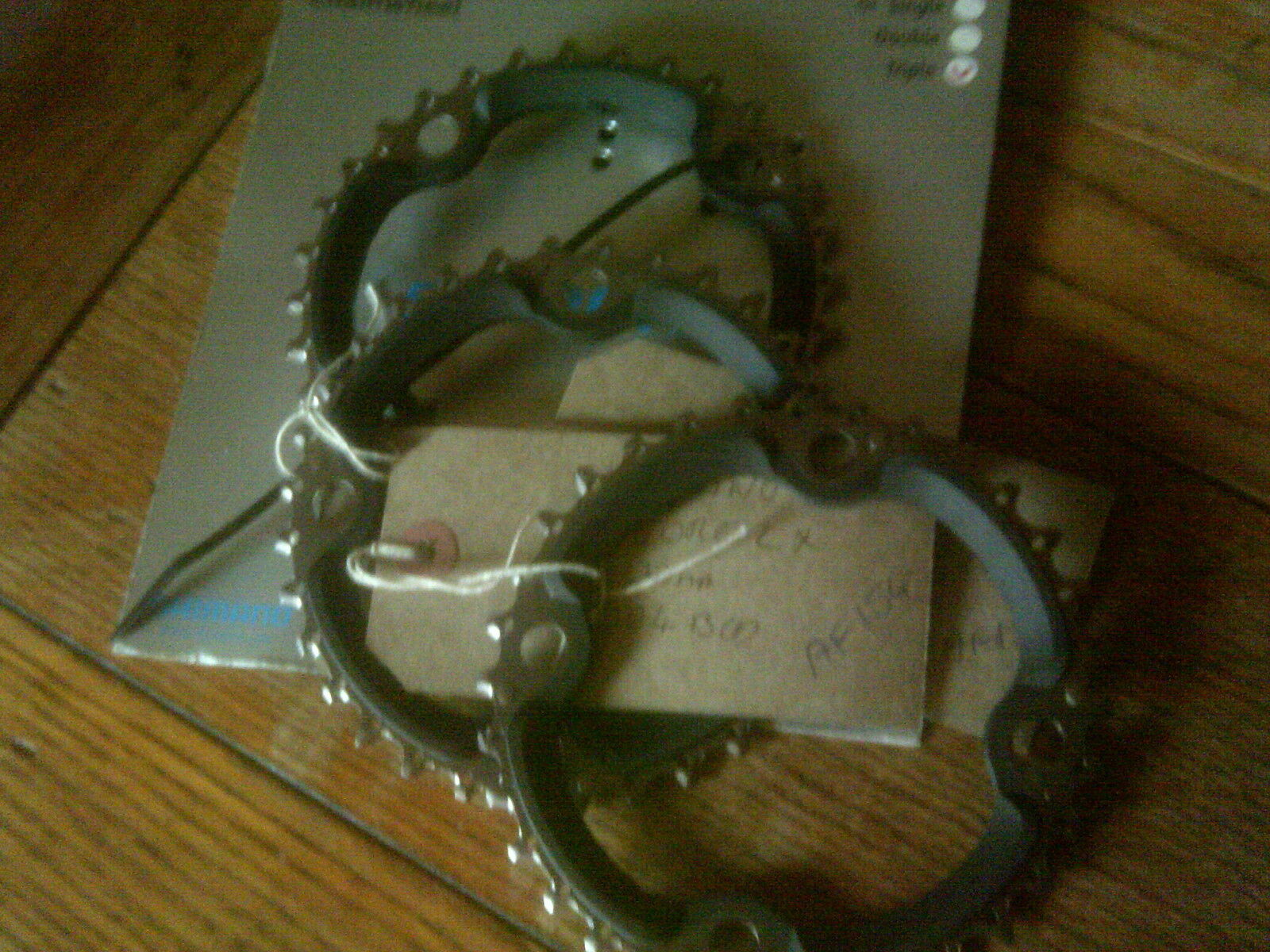 32 TOOTH 104BCD SHIMANO DEORE LX  FC-M660 9 SPEED  CHAINRING