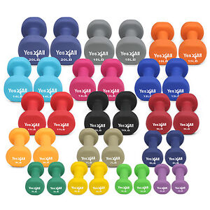 Yes4All-Neoprene-Dumbbell-Weight-Set-Weight-Available-2-20-lbs-Set-of-2