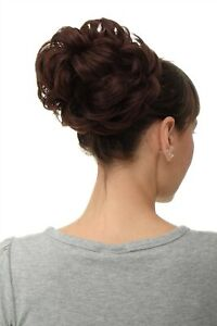 Details about Hair Piece Rose Bun Bushy Volume
