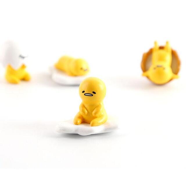 8pcs//set Sanrio Gudetama Collectibles Toy Lazy Egg Action Figures Kid Xmas Gifts