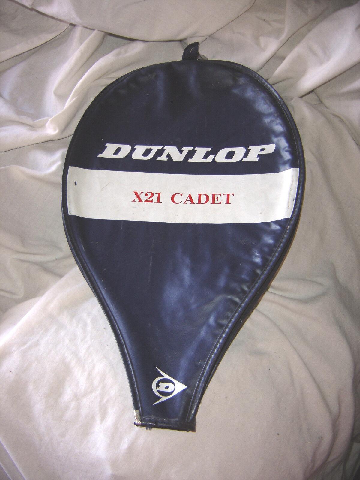 Raquette de Tennis dunlop X21 Cadet avec housse - bon bon bon état 5df4db