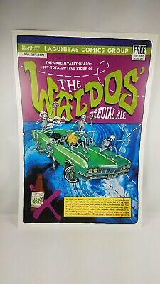 Lagunitas The Waldo/'s Special Ale Poster 12 1//4 × 18 1//4 Beer Promo Ad Display