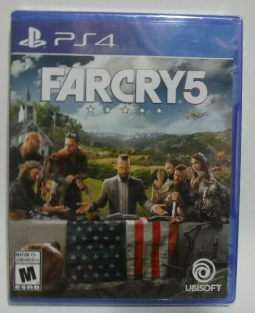 Farcry 5 (PS4, Brand New & Sealed)